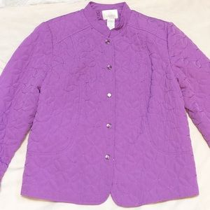 Women's Studio works purple jacket